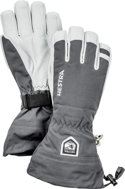 Army Leather Heli Ski Glove