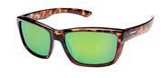 Mayor Sunglasses - Tortoise/Green Mirror Polarized