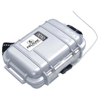 Pelican I1010 Ipod Case - Silver