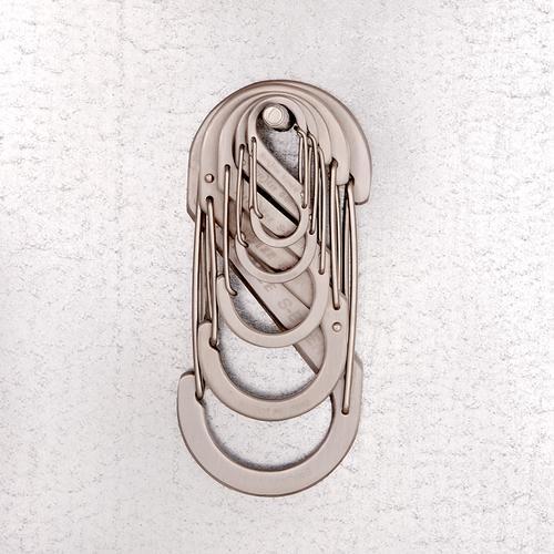 Nite Ize S- Biner # 3 - Stainless Steel