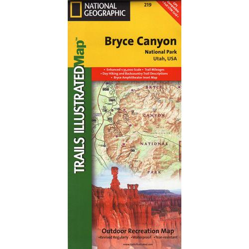 Bryce Canyon National Park Trail Map