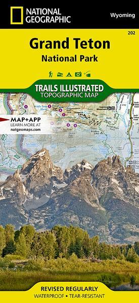 Teton National Park Map