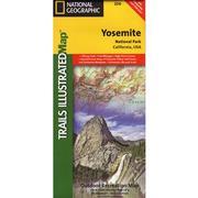 Yosemite National Park Trail Map