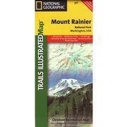 Mount Rainier National Park Trail Map