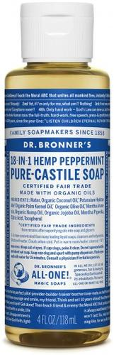 Dr.Bronners Peppermint Soap - 4oz