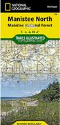 Manistee National Forest North Trail Map