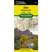 Zion National Park Trail Map
