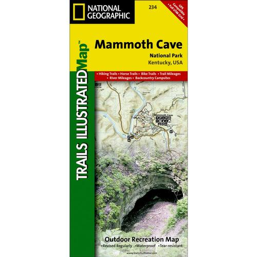 Mammoth Cave Trail Map