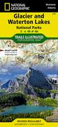 TI Glacier and Waterton Lakes National Parks Map