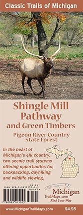 Shingle Mill Pathway & Green Timbers Map