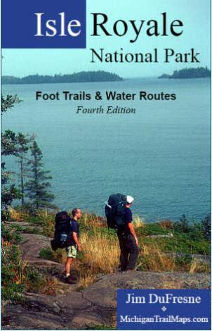 Isle Royale National Park - Foot Trails & Water Routes