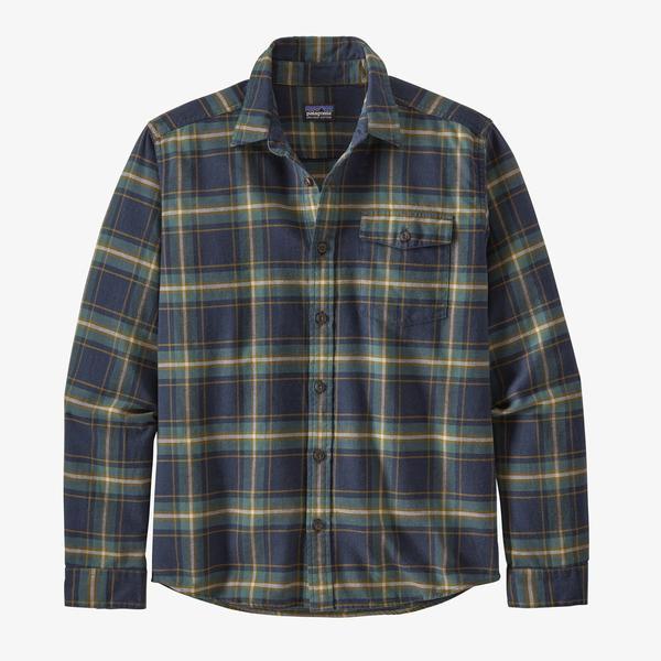 Long- Sleeved Lightweight Fjord Flannel Shirt