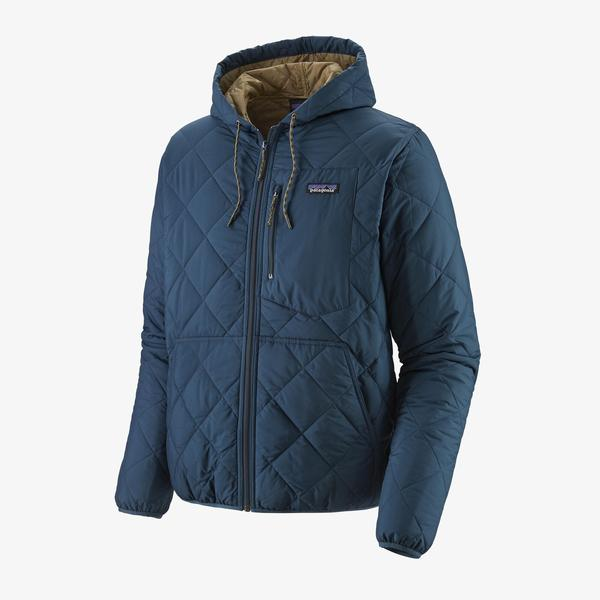 Diamond Quilted Bomber Hoody