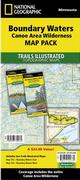 T.I. Boundary Waters Canoe Area Wilderness Map Pack Bundle