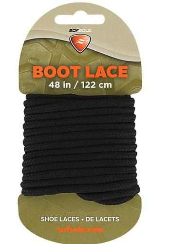 Sof Sole Black Boot Laces - 48