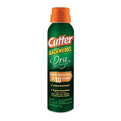 Cutter Backwoods 23 % Deet (Dry) Insect Repellent