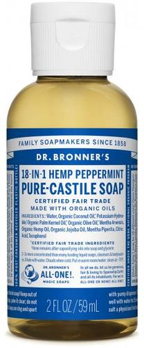 Dr.Bronners Peppermint Soap - 2oz