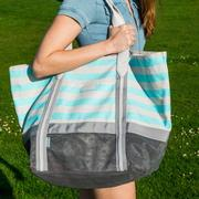 Classic Canvas Sand Free Tote Large