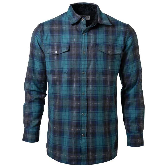 Christopher Fleeced Lined Long Sleeve Shirt