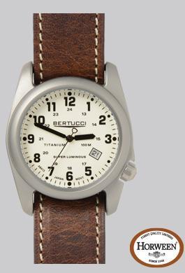 A- 2t Original Classic Super Luminous - Swiss Super Luminous Dial - Nut Brown Waterproof Leather Band