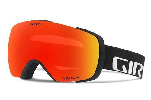 Contact Goggle - Black Wordmark/Vivid Ember/Vivid Infrared (19/20)
