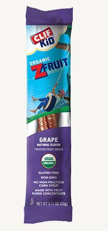 Clif Z- Fruit Grape