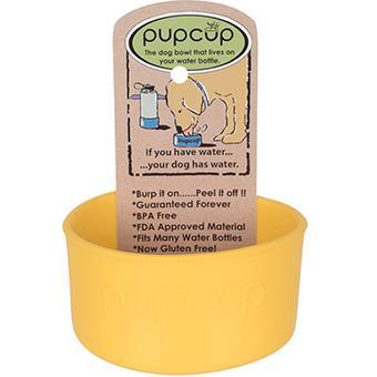 Original Pupcup - Yellow