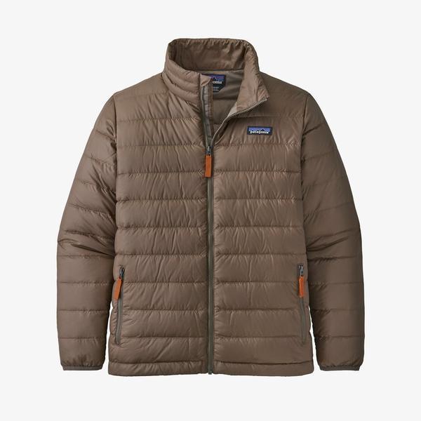 Boy's Down Sweater Jacket