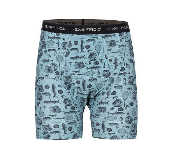 Give- N- Go Printed Boxer Brief