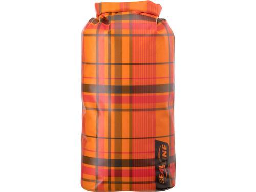 Discovery Dry Bag - 10l Orange Plaid