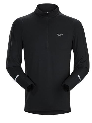 Cormac Zip Neck Shirt Ls