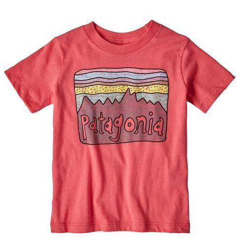 Baby Fitz Roy Skies Organic Cotton T- Shirt