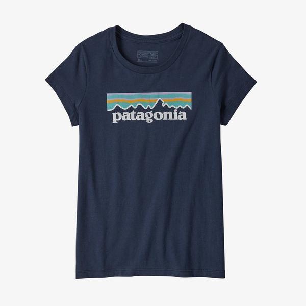 Girls ' Pastel P- 6 Logo Organic Cotton T- Shirt
