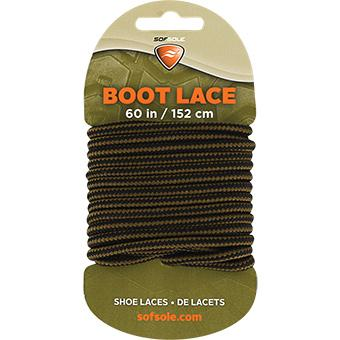 Sof Sole Black/Brown Boot Laces - 60