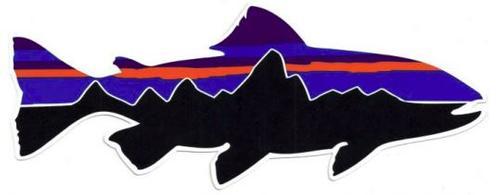 Fitz Roy Trout Sticker