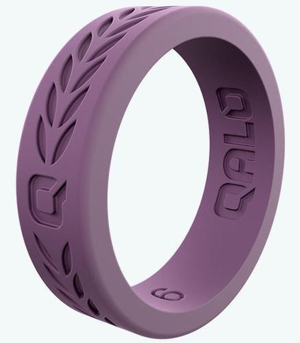 Women's Lilac Laurel Q2x Silicone Ring