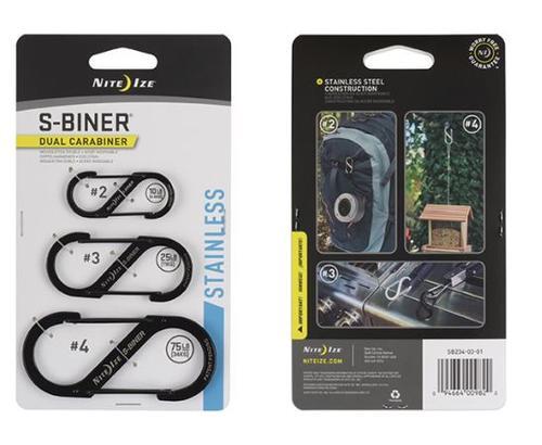 S- Biner 3 Pack