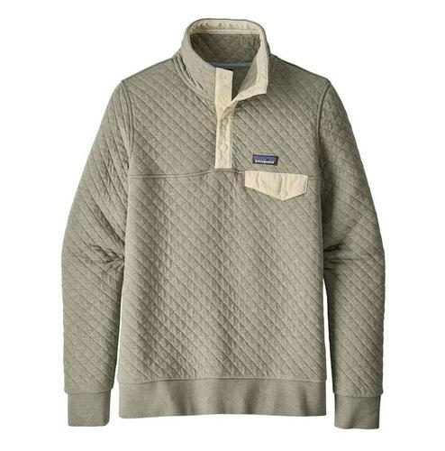 Women's Organic Cotton Quilt Snap- T Pullover