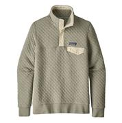 Women's Organic Cotton Quilt Snap-T Pullover