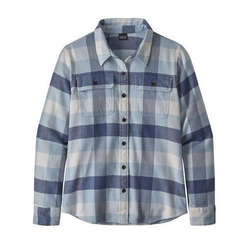 Women's Long- Sleeved Fjord Flannel Shirt