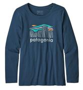 Girls' Long-Sleeved Graphic Organic T-Shirt