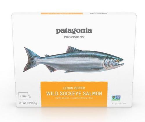 Wild Sockeye Salmon, Lemon Pepper
