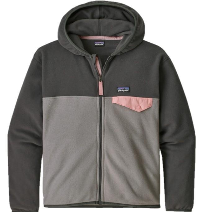Girl's Micro D Snap- T Fleece Jacket