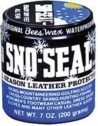 Sno Seal All Season Beeswax Waterproofing Leather Protection - 7oz Jar
