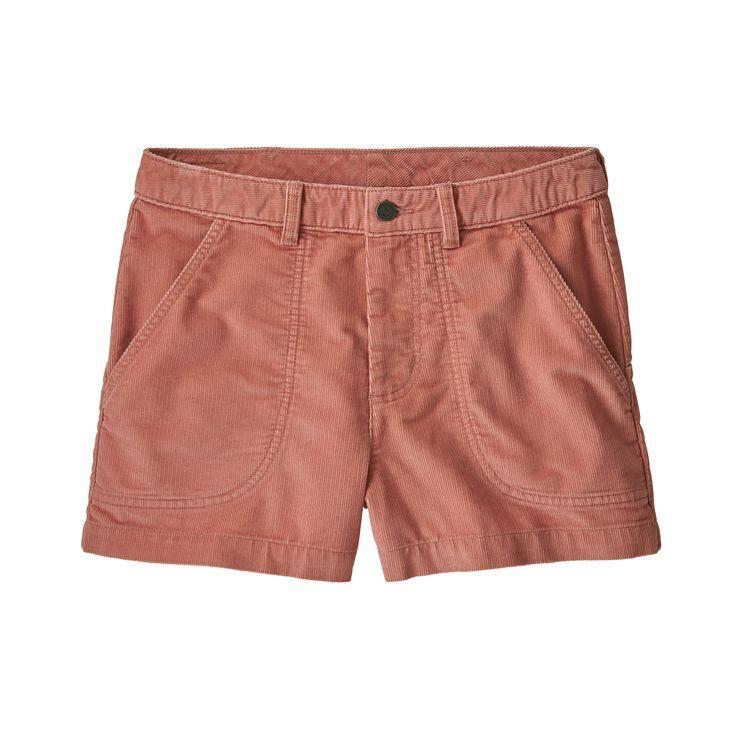Women's Cord Stand Up Shorts - 3