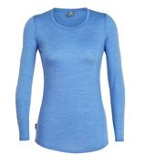 Women's Cool-Lite Sphere Long Sleeve Low Crewe (PAST SEASON)