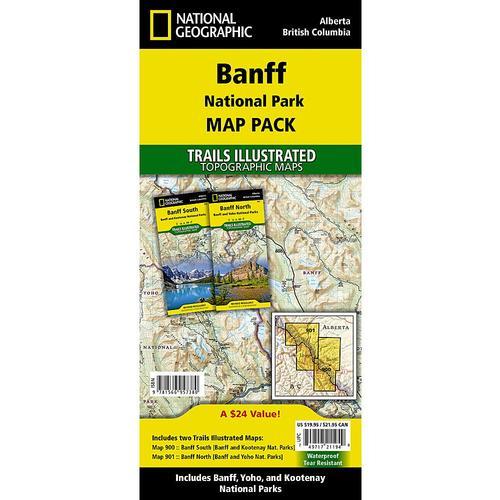 Banff National Park Map Pack Bundle Trail Maps
