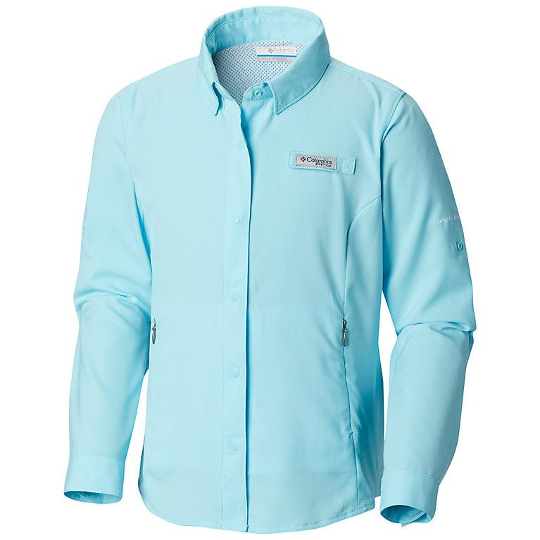Girls ' Pfg Tamiami Long Sleeve Shirt