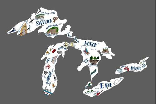 Great Lakes Community Sticker