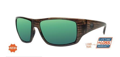Bulkhead Cedar/Green Mirror Sunglasses